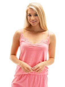 różowa piżama damska